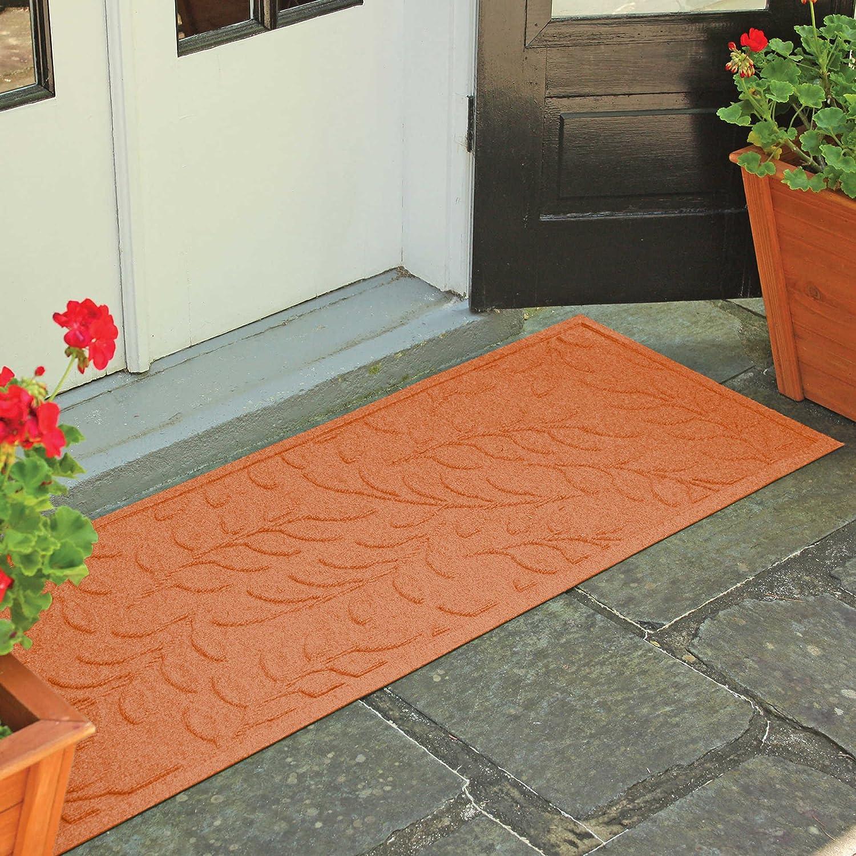 天気ガードBrittneyリーフ22インチ× 60インチドアマットオレンジ色で   B07373GLGT
