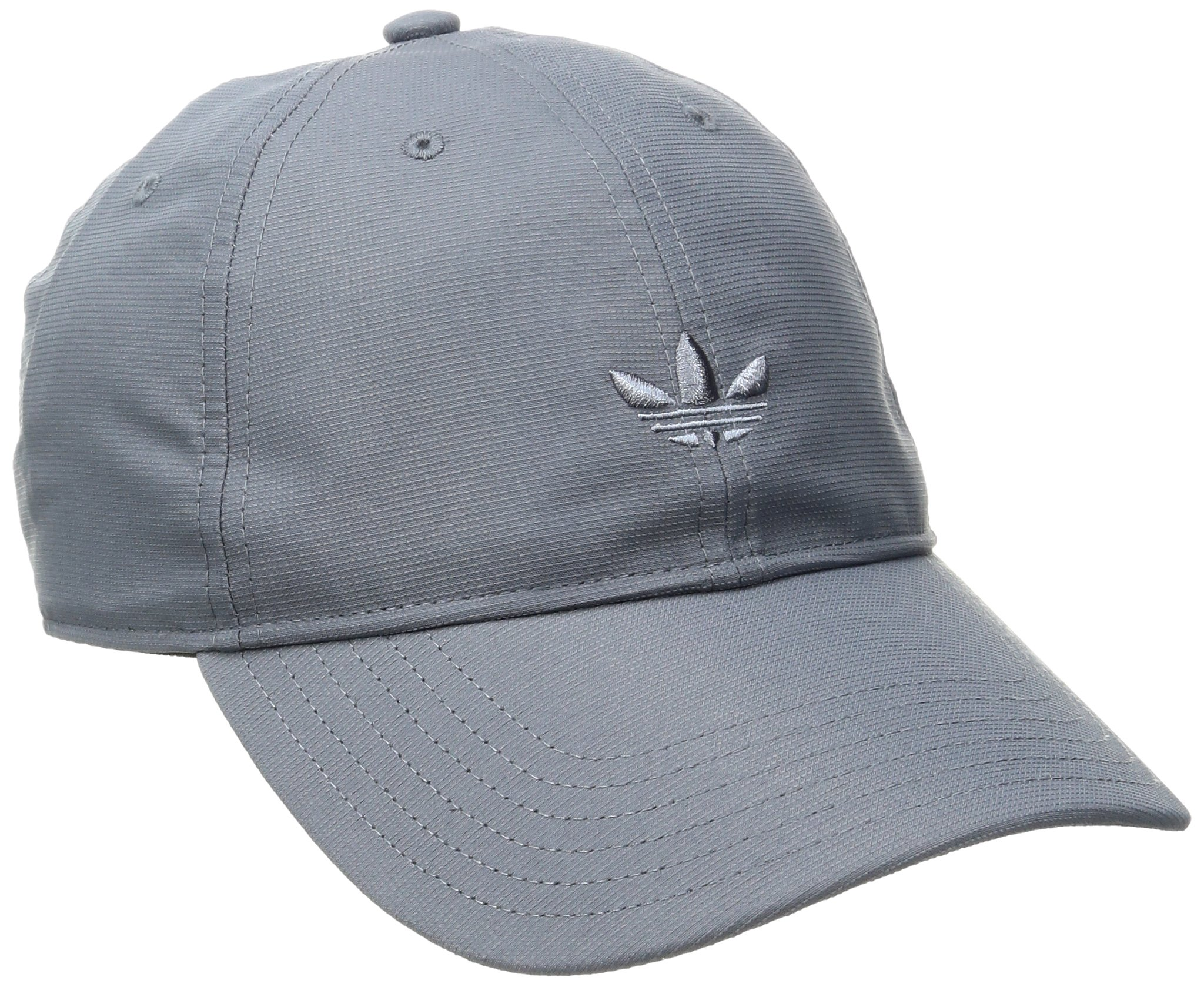 adidas Men's Originals Relaxed Strap Back Cap, One Size, Grey