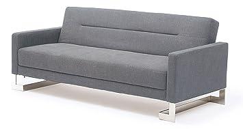 At Home USA, Savina Light Blue Sofa Sleeper, SKUM3900783LG