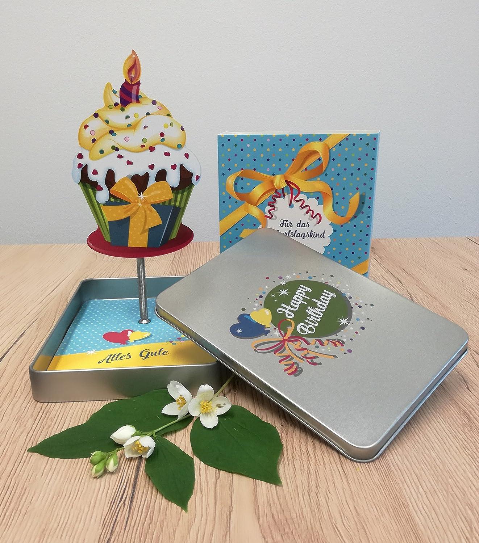 Happy Birthday Geldgeschenke Verpackung Mit Effekt Der Cupcake