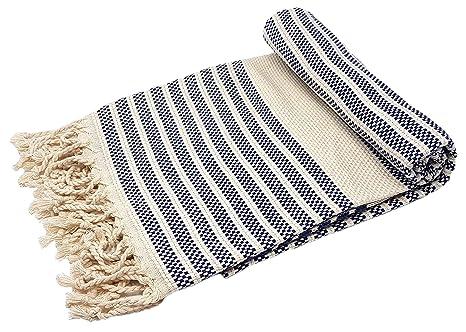 BellaCasa Marmara Backpacker Toalla de baño Toalla de Sauna Pest Veces Fouta Toalla de Playa Toallas