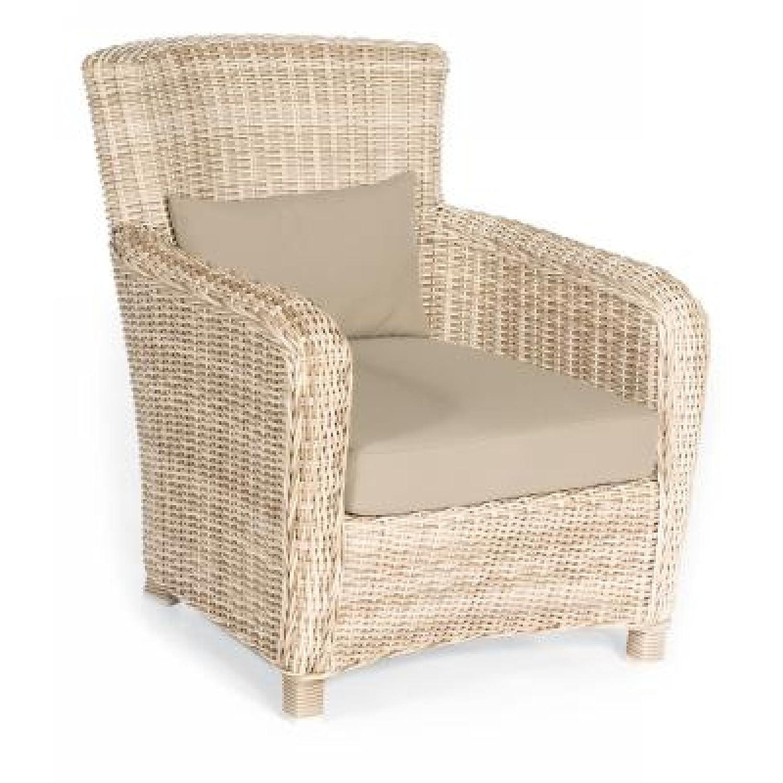 Sonnenpartner Gartenstuhl Lounge Sessel Fago antik weiß 80061932