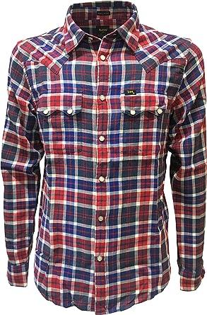 LEE 101 - Camisa casual - para hombre: Amazon.es: Ropa y accesorios