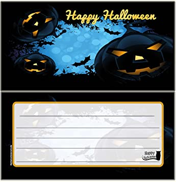 Halloween Scary Theme Party Invitation Cards Blank For Your Own Adult Kinderr Birthday