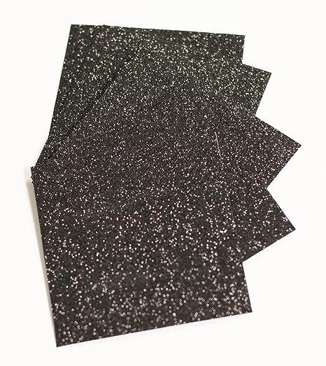 Expressions Vinyl - Black - 9x12 Siser Glitter Iron-on Heat