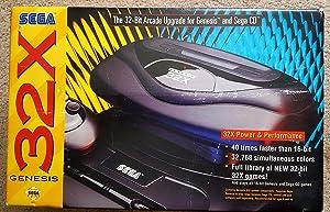 Sega Genesis 32X Console