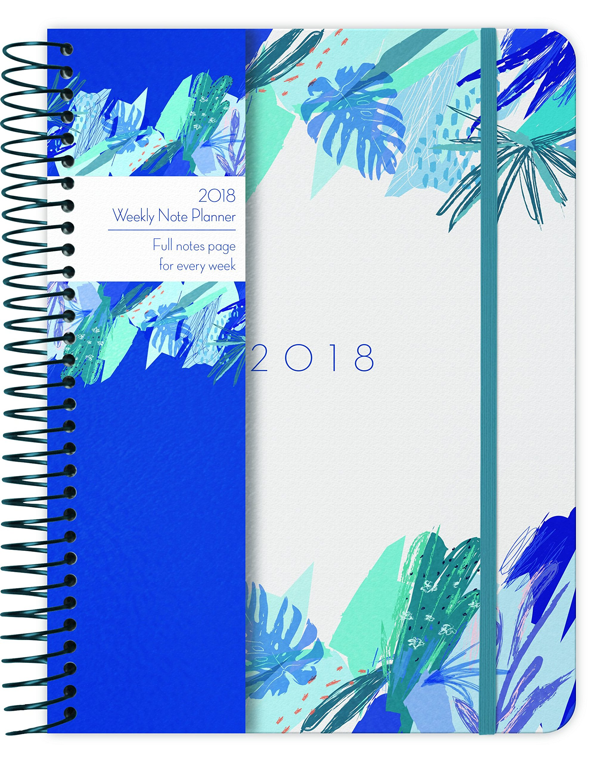 Read Online Tropical 2018 Weekly Note Planner pdf