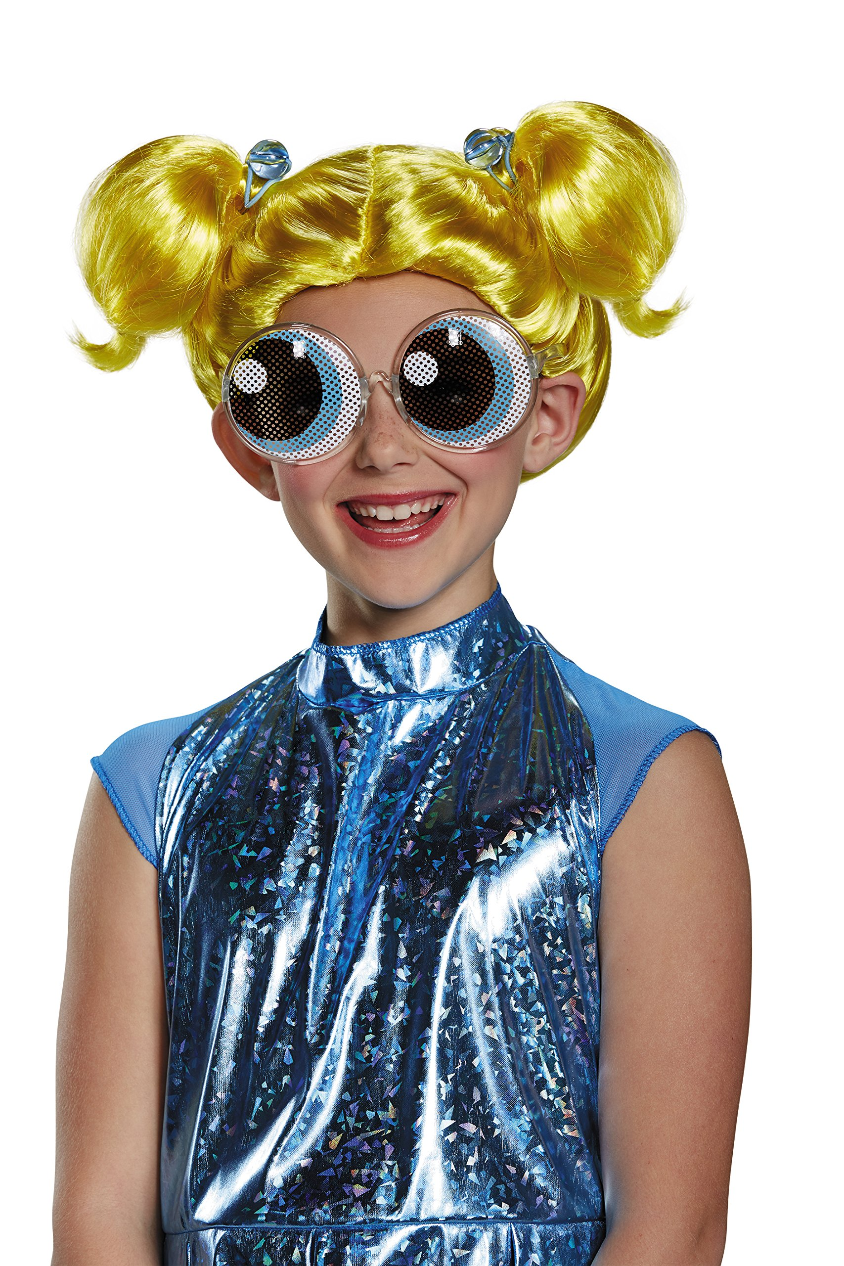Disguise Bubbles Powerpuff Girls Wig, One Size Child