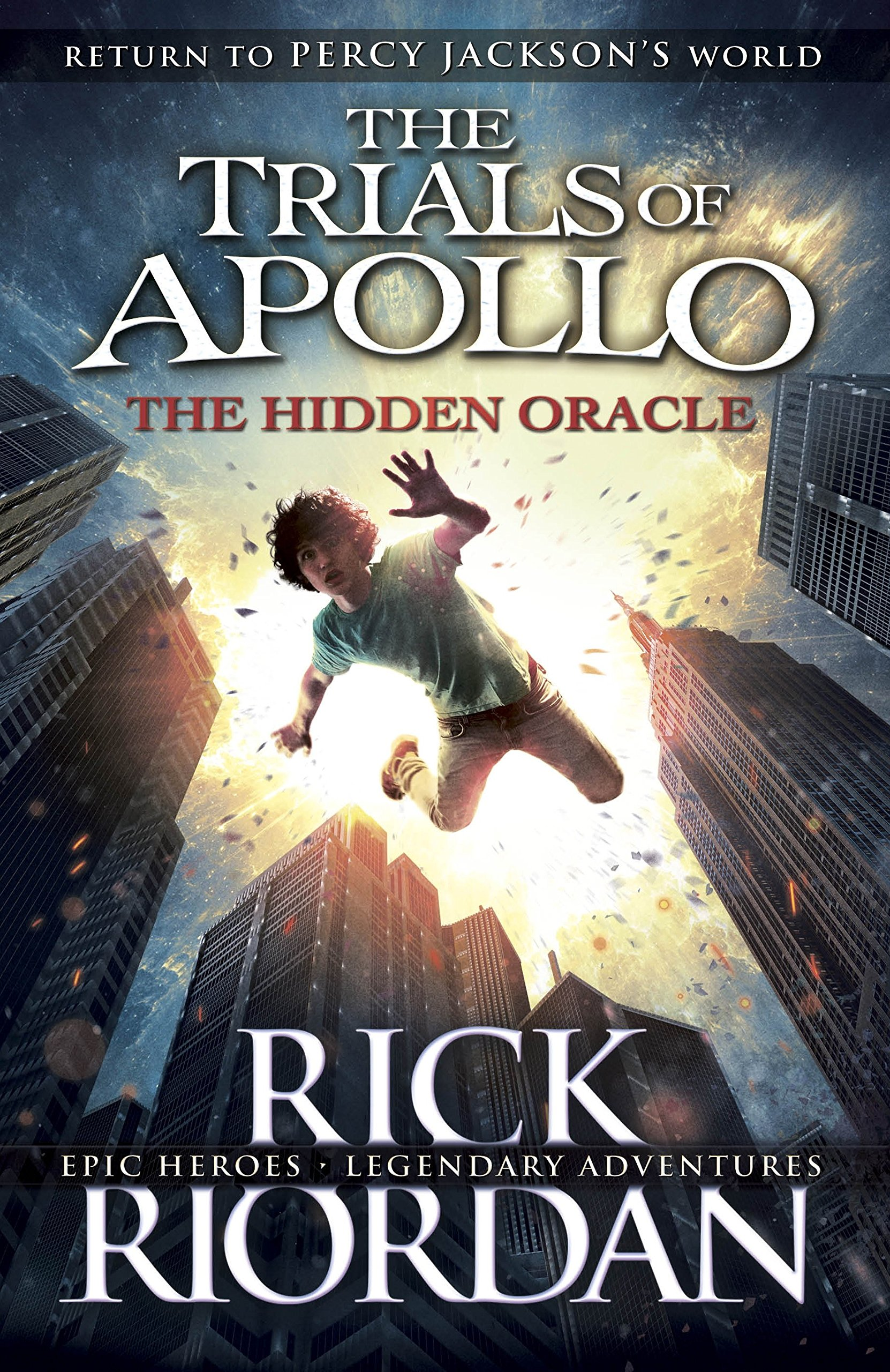 The Hidden Oracle (The Trials of Apollo Book 1): Amazon.co.uk ...