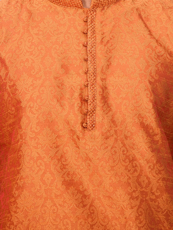 SKAVIJ Junge Tunika indische hochzeits Kurta Pajama Set Sommer Mode Kleid KP23