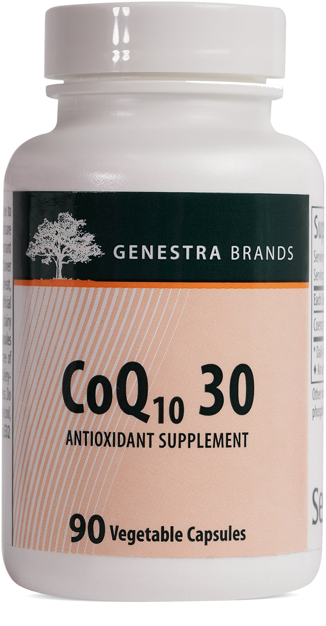 Genestra Brands - CoQ10 30 - Coenzyme Q10 Supplement - 90 Vegetable Capsules