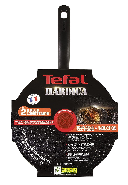 Tefal c6833202 hardica Ind sartén Aluminio Negro 43,2 x 25,4 x 11,9 cm: Amazon.es: Hogar