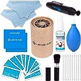 8-in-1 Reinigungsset für Kamera und Objektiv (Flüssig-Reiniger, Blasebalg, Pinsel, Lens-Pen, Mikrofasertuch UVM.) DSLR Lens-Aid Geschenk Fotograf