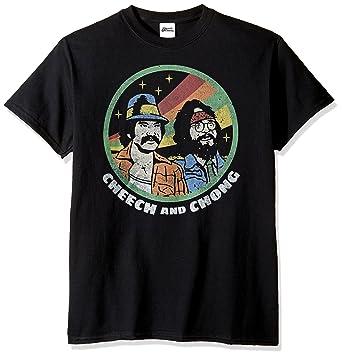 a1444a0c1 Cheech & Chong Cheech and Chong Men's Retro T-Shirt, Black, ...