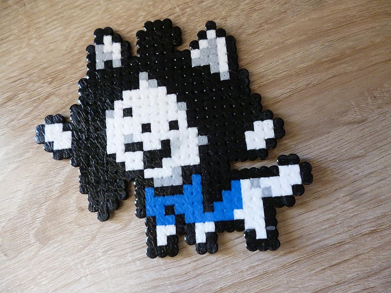Amazon Com Sprite Temmie Undertale Hama Beads Pixel Art Perler Bead Handmade