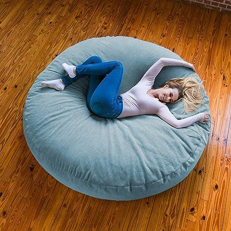 Phenomenal Amazon Com Jaxx 6 Foot Cocoon Huge Bean Bag Lounge For Beatyapartments Chair Design Images Beatyapartmentscom