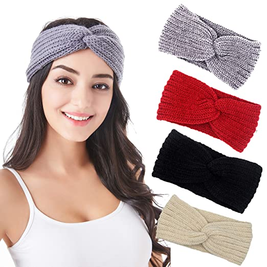 fcd77a408a2 Image Unavailable. Image not available for. Color  Headband for ladies –  Classic Headband - Winter Headbands for Women - Knit Head Wrap -