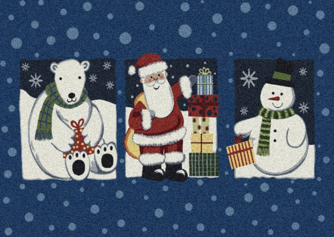Milliken Tis The Season Holiday Rug from Amazon!