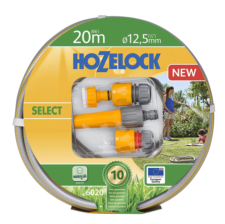 Hozelock Tricoflex Water Hoses Select Hose Set Grey