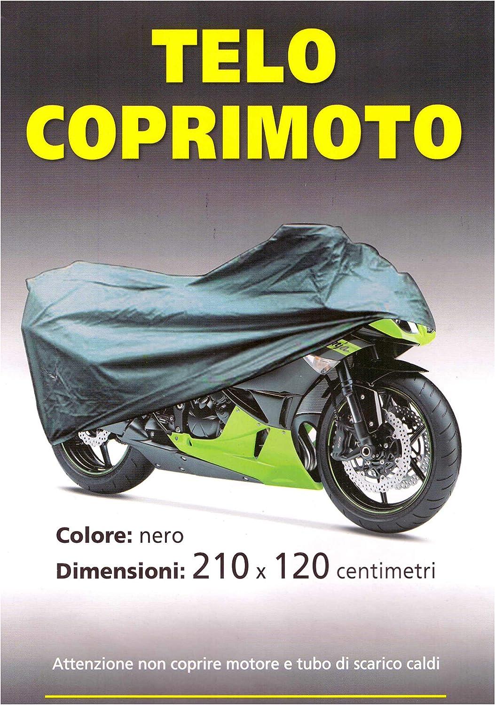 Motorradabdeckung M-Bike Schwarz Wasserdicht Universal 210x120cm Wasserdicht Regen und Wind f/ür Motorrad Roller Fahrrad Motorrad Abdeckung