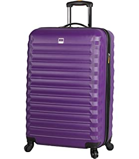 Expandable 28 Inch Softside Bag with Pattern Diva Lucas Designer Luggage Durable Large Ultra Lightweight Checked Suitcase with 4-Rolling Spinner Wheels