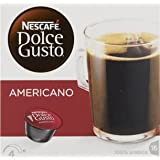Nescafe Dolce Gusto Americano Coffee Pods 16 capsules - Pack of 3 (Total 48 Capsules)