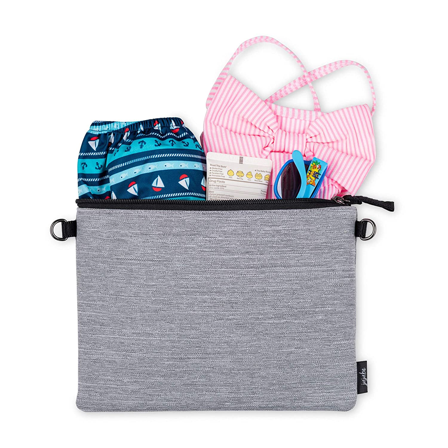 On The Go Machine Washable Travel Bags with Zipper Closure Waterproof Reusable Bags 3-in-1 Set Organization for Diaper Bags Strike Off JuJuBe Dry Wet Bags Baby Strollers