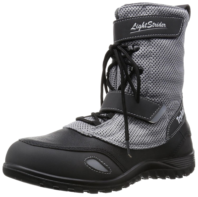 [トライアント] TRY ANT 安全靴 作業靴 ライトストライダー L-25 高所作業 通気性 メッシュ B01D2XZT3O ライトグレー 23.5 cm