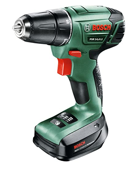 Bekend Bosch PSR 14.4 LI Cordless Drill Driver with 14.4 V Lithium-Ion OF02