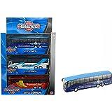 Modellino di pullman autobus giocattolo da città