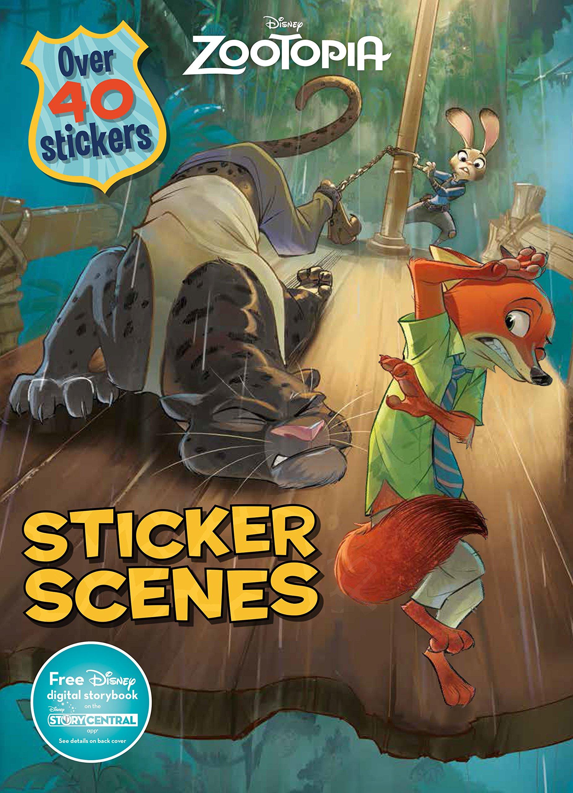 Disney Zootopia Sticker Scenes Parragon Books Ltd 9781474821582 Amazon Com Books