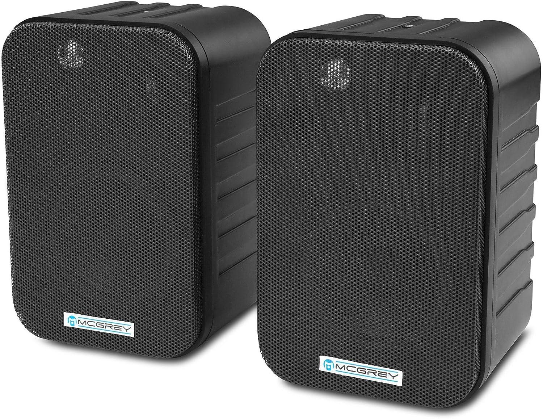 Mcgrey One Control Hifi Studio Lautsprecher Kompakt Lautsprecher Für Installation Studio Oder Hifi Anwendung Belastbarkeit 20 Watt Rms 60 Watt Peak Wandmontage Möglich Schwarz Musikinstrumente