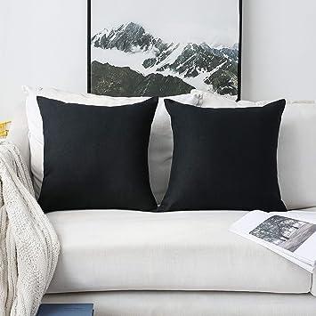 Brilliant Home Brilliant Set Of 2 Winter Decor Linen Large Throw Pillows European Shams Couch Pillow Covers Big Cushion Cover For Bench 26 X 26 Inch 66Cm Inzonedesignstudio Interior Chair Design Inzonedesignstudiocom