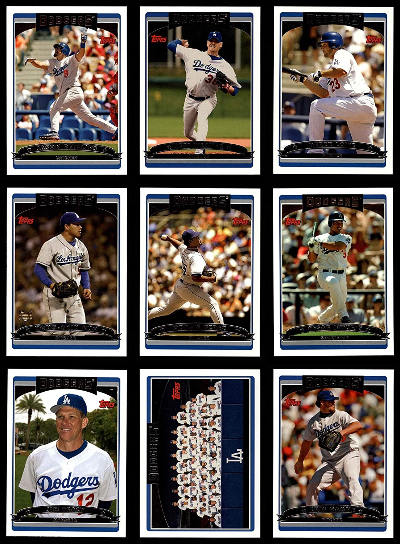 2006 Topps Los Angeles Dodgers Team Set Los Angeles Dodgers (Set) NM/MT Dodgers
