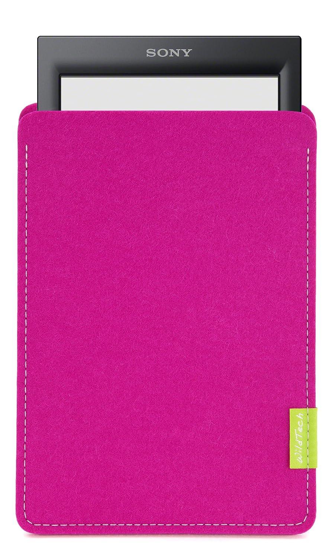 WildTech - Funda de fieltro para Sony PRS-T3 / T3S con luz rosa ...