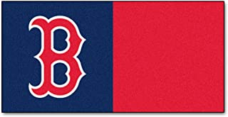 "product image for Fan Mats Boston Red Sox Carpet Tiles,18"" x 18"" Tiles"