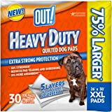 OUT! Heavy Duty XXL Dog Pads, 26 x 30, 30 ct