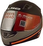 LS2 Piston Full Face Helmet (Black, L)