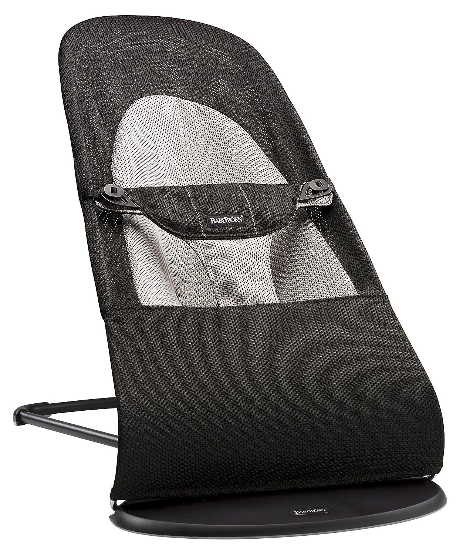 BABYBJÖRN Bouncer Balance Soft (Black/Grey, Mesh) BabyBjorn 005028