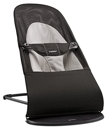 amazon com babybjorn bouncer balance soft black gray mesh