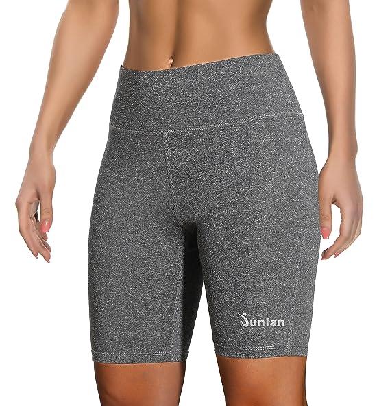 Amazon.com: Pantalones cortos de yoga para mujer, pantalones ...