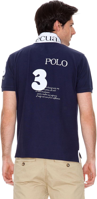 Valecuatro Polo Logo Azul Marino M: Amazon.es: Ropa y accesorios