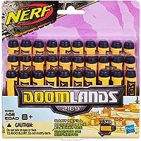 NERF Doomlands - 30 Pack Official Darts - for use with The Judge, Double Dealer, Lawbringer &  Persauder Blasters