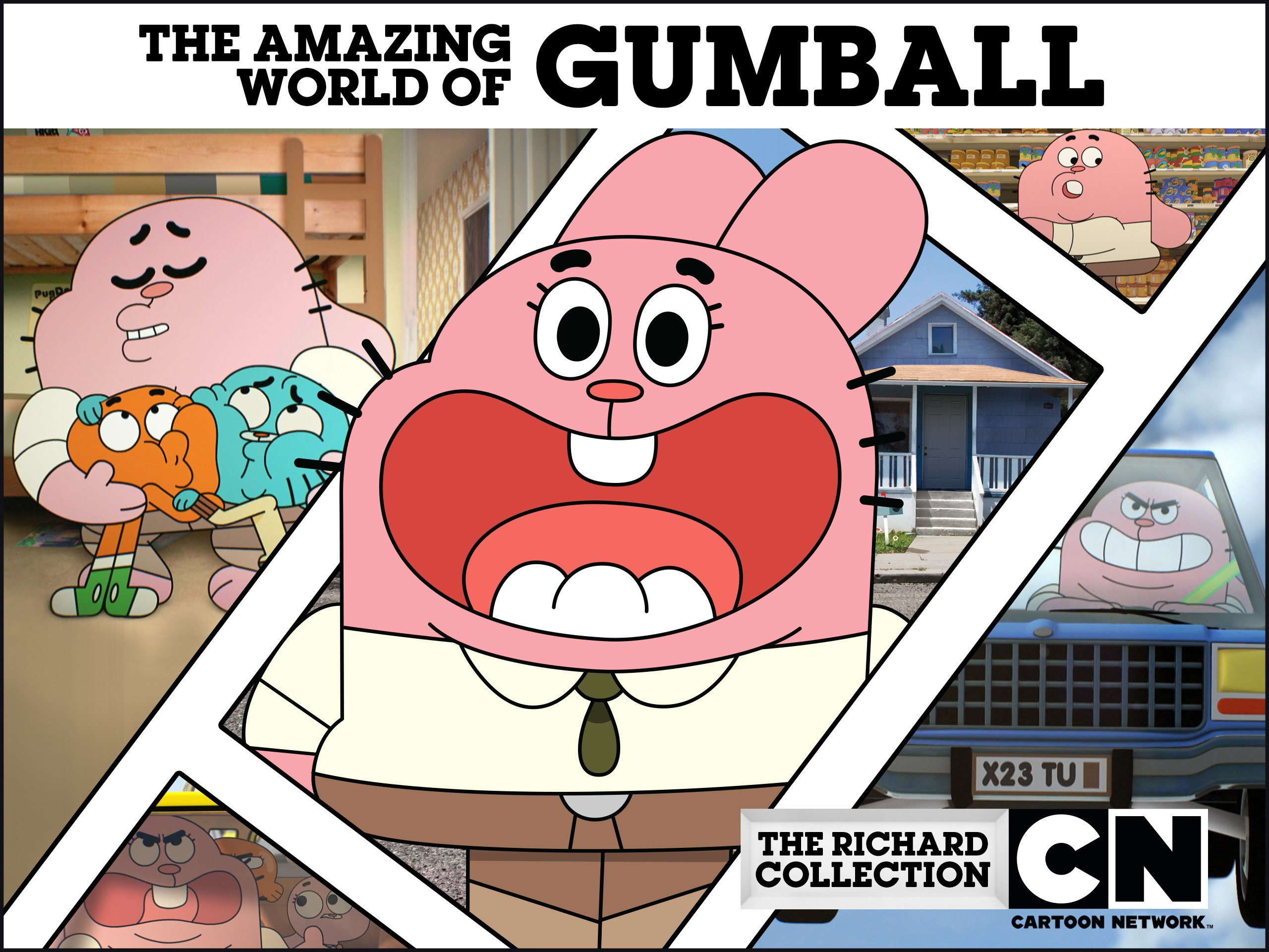 The Amazing World Of Gumball Collection