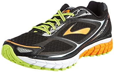 Amazon.com | Brooks Men's Ghost 7 Running Shoes (11.5 D(M)M US, Black/Orange  Peel/Silver) | Running