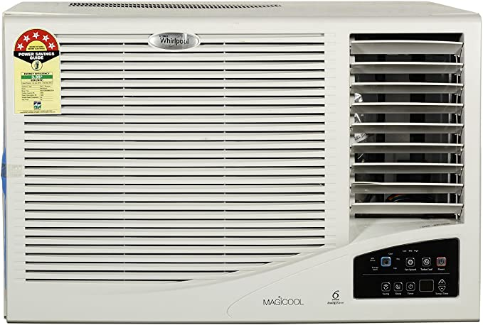 Whirlpool 1.5 Ton 5 Star Window AC (Copper, Magicool, White)