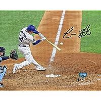 "$179 » Enrique Hernandez Los Angeles Dodgers 2020 MLB World Series Champions Autographed 8"" x 10""…"