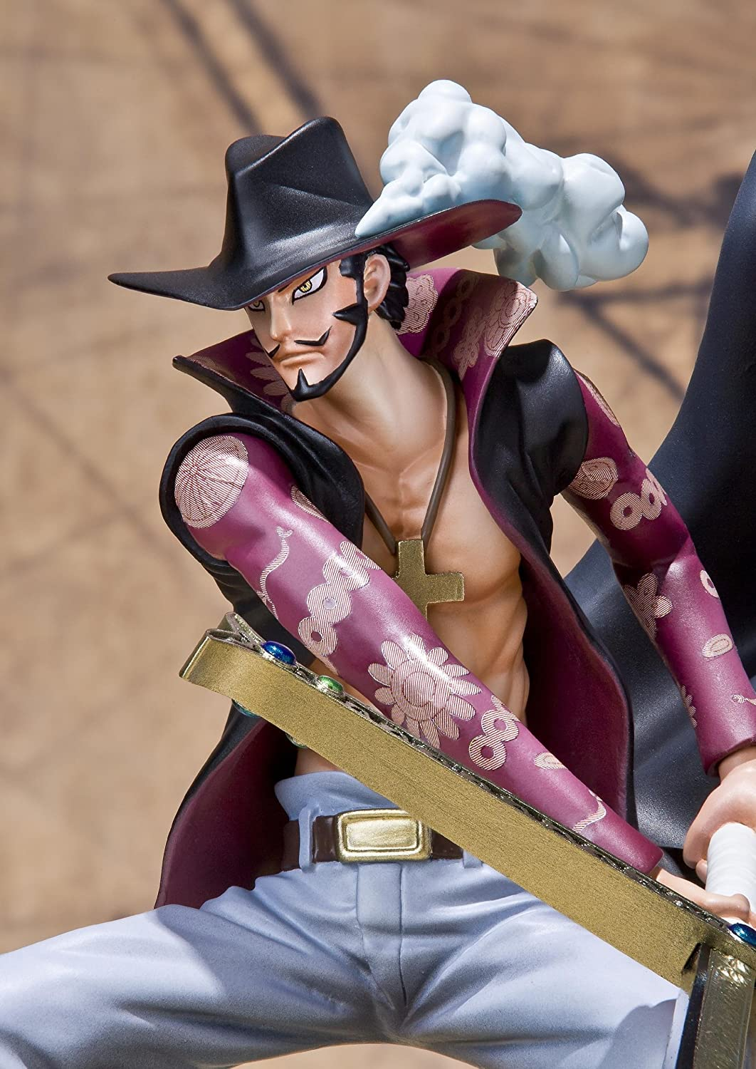 Figuarts Zero Battle Version Bandai Tamashii Nations Dracule Mihawk One Piece Bluefin Distribution Toys 75624