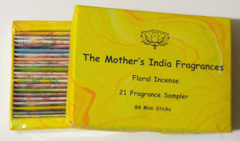 母のインドFragrances – 21 FRG。NagchampaボックスMinisampler ( 4 Sticks各)   B079YKJNQQ
