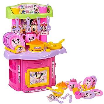 Disney Minnie Mouse Chef Kitchen Set [01962]: Amazon.co.uk: Toys ...